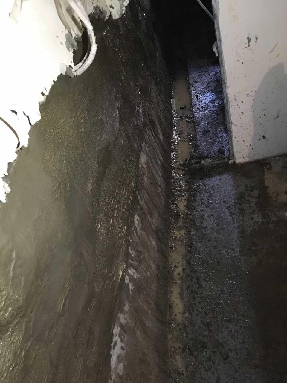 Гидроизоляция цокольного этажа сухой смесью, фото 8