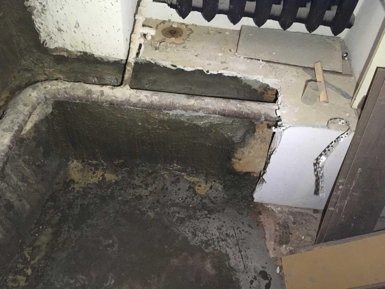 Гидроизоляция цокольного этажа сухой смесью, фото 11