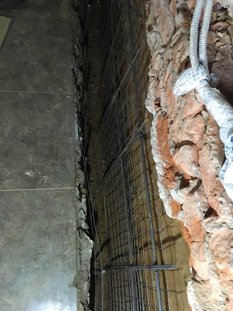 Гидроизоляция цокольного этажа сухой смесью, фото 5